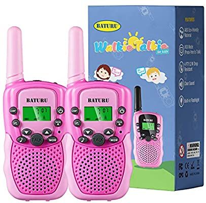 Amazon Com Baturu Kids Walkie Talkies For Girls Kids Birthday Gifts Toys For 4 In 2020 9 Year Old Girl Birthday Birthday Presents For Girls Girl Birthday Party Gifts