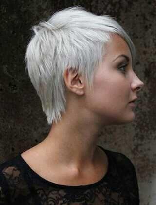 32+ Coiffure courte cheveux blancs idees en 2021