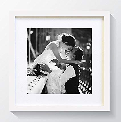 10x10 Quot For 7x7 Quot Picture Glass Window White Oxford Premium Thin Square Photo Frame Wi Deep Picture Frames Modern Picture Frames Picture Frame Sets