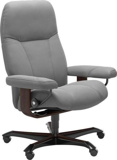 Relaxsessel Consul Mit Home Office Base Grosse M Gestell Braun