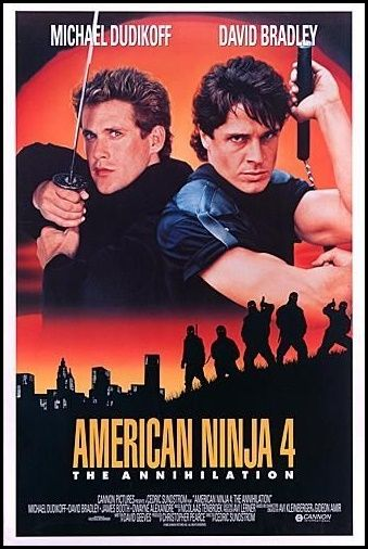 Review American Ninja 4 The Annihilation 1990 The Worst In The