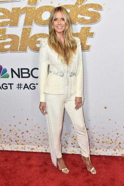 Heidi Klum attends the 'America's Got Talent' Season 13 Live Show at Dolby Theatre.