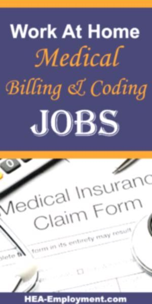 Remote Medical Billing Work From Home Jobs Are Available At Hea