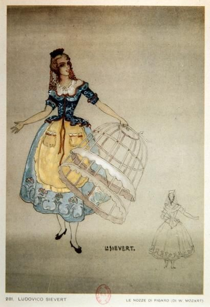 Costume Design For The Opera The Marriage Of Figaro By Wolfgang Amadeus Mozart Pbs Learningmedia Historical Costume Costume Design Pbs Learningmedia