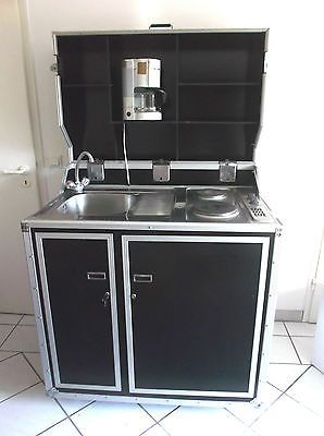 Kitcase Kofferkuche Single Kuche Kompaktkuche Komplett Kuche Mit