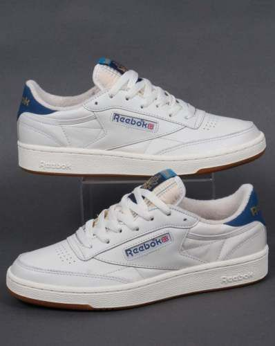 reebok white classic tennis shoes