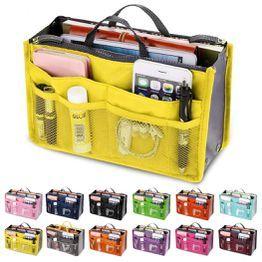 932645aa37f07 Przenośna torba płócienna w torbie Torby podróżne Makijaż torba organizator  dla kobiet mężczyzn na co dzień Wielofunkcyjna kosmetyczka Makijaż  kosmetyczka ...