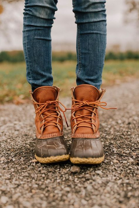 LL bean boots: the perfect shoes for visiting a tree farm #boots