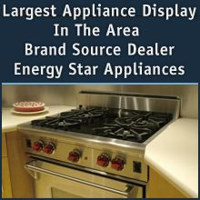 Home Appliance And Tv Provides All Different Sizes And Styles Of Refrigerators Ranges Wa With Images Appliance Delivery Energy Star Appliances Large Appliances