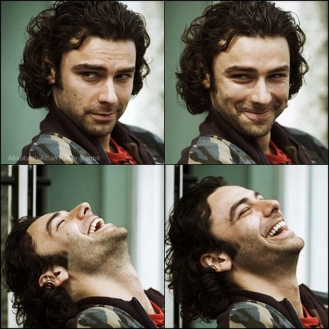 Irish actor Aidan Turner - love his face! He's from the English (original) version of the TV show