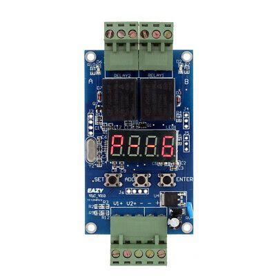 DC 5v 12v Delay Time Switch Adjustable Relay Control Timer Module LED display
