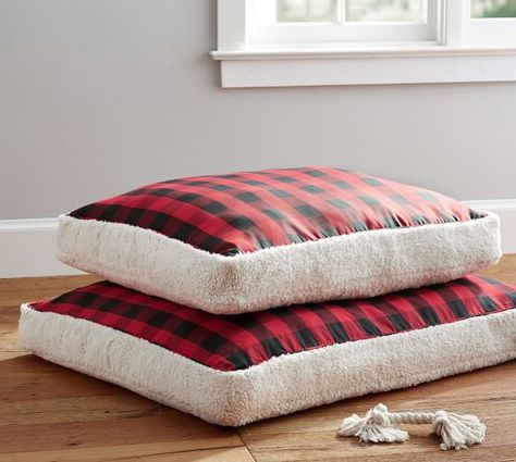 Buffalo Check Dog Bed Cover Dog Bed Bed Covers Dog Beds For