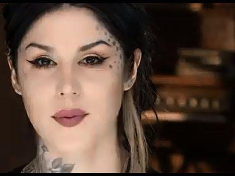 Watch now: Kat Von D shows you how to get a neutral tangerine eye look using her Esperanza Eyeshadow Palette. #video #howto #makeuptutorial