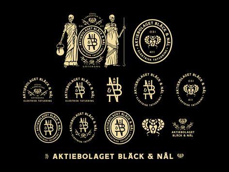 Aktiebolaget Bläck & Nål - Full Branding System