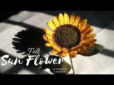 Il Blog Di Sam How To Crochet A Sunflower Crochet Flowers Crochet Plant Crochet Sunflower