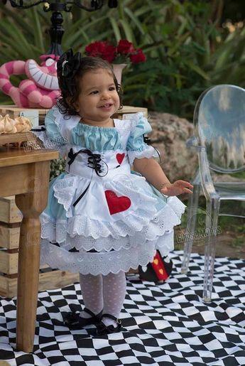 Alice No Pais Das Maravilhas Vestido Alice No Pais Das
