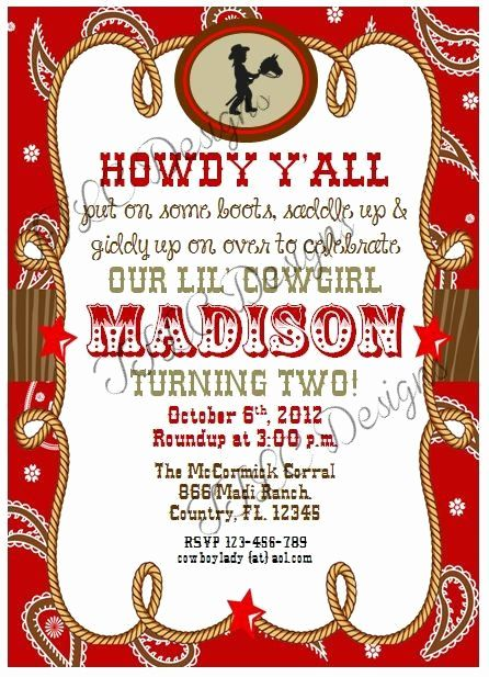Western Party Invitation Templates Free Inspirational Digital Cowgirl Western Country Themed B Western Theme Party Party Invite Template Cowgirl Birthday Party