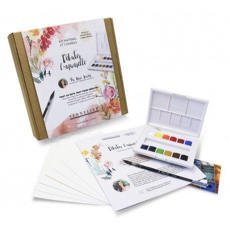 Debuter L Aquarelle Kit Materiel Et Conseils De Marie Boudon Par