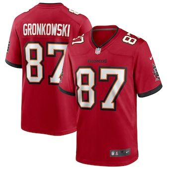 Men S Tampa Bay Buccaneers Rob Gronkowski Nike Red Game Jersey In 2020 Tampa Bay Buccaneers Tampa Bay Tampa