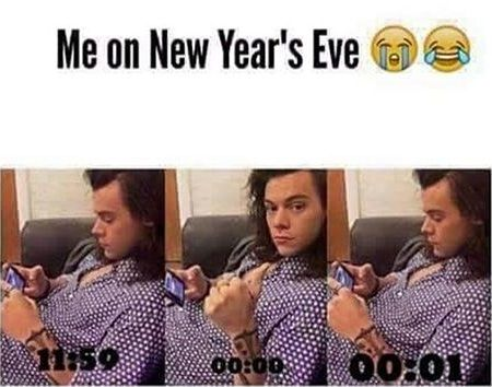 New Year Memes Jokes And Hilarious Comedy New Year Meme One Direction Jokes Funny New Years Memes