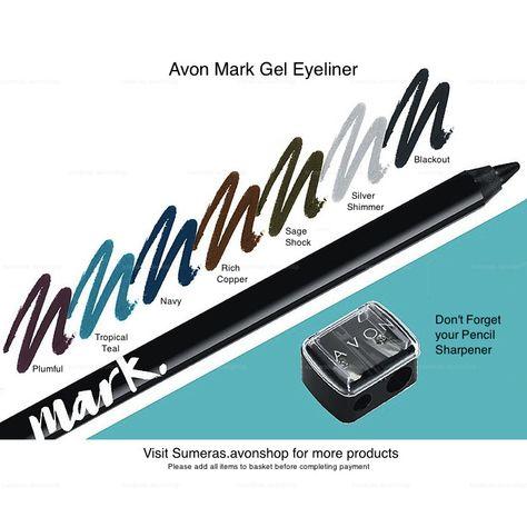 Various Avon GEL EYELINERS~Mark~SuperShock ~ColorTrend Gel Eyeliners Free P&P #Avon