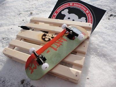 LucaShop lv Wooden Fingerboard Completes 32mm wide! Blackriver Ramp
