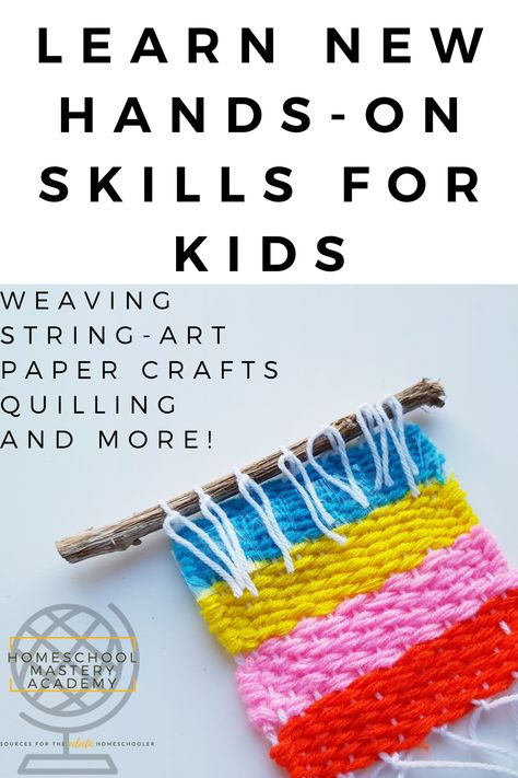 22 Of The Best Easy Hands On Crafts For Kids - Step By Step #kidscrafts #papercrafts #handson #craftsforkids #craftideasforkids #crafting #kidscraftideas #homeschool #craftprojectsforkids