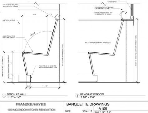 Built In Banquette Seating Banquette Seating Drawings Banquette Seating Restaurant Seating Design Restaurant Seating