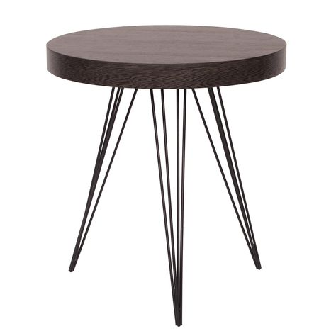 Howard Elliott Collection Black Ash Wire Side Table Wire Side Table Contemporary Side Tables Table