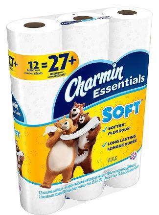 walgreen's : charmin essentials soft bath tissue just $3