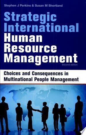 Strategic International Human Resource Management Pdf Download