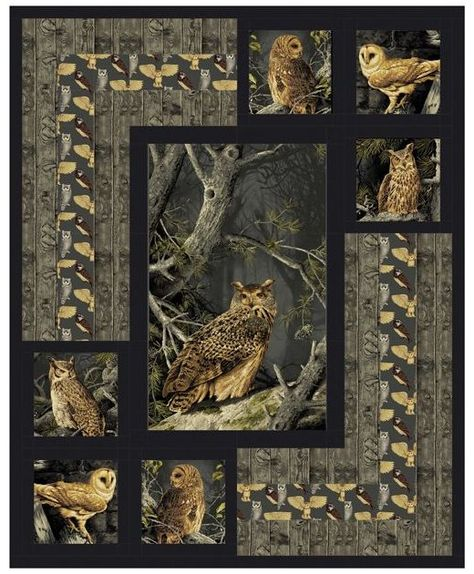 Owl Quilts, Animal Quilts, Scrappy Quilts, Baby Quilts, Owl Patterns, Quilt Patterns Free, Pattern Ideas, Free Pattern, Owl Quilt Pattern