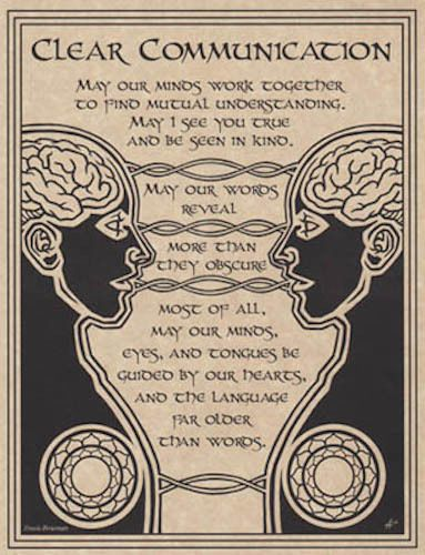 Clear-Communication-Parchment-Page-for-Book-of-Shadows-pagan-wicca-witch