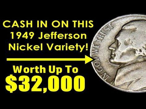 1949 Jefferson Nickel Variety Worth BIG Money Even In Low Grades! - BEST OF THE BEST!