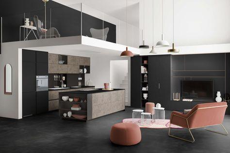 Modeles De Cuisines En 2020 Cuisine Moderne Cuisine Noire