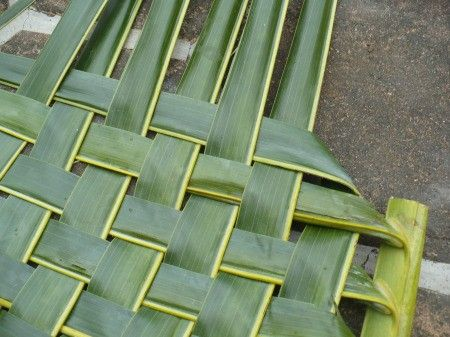 Weaving Coconut Leaf Plates In 2020