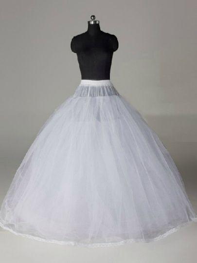 Gauze Wedding Petticoat Simple Wedding Accessories Petticoat For Wedding Dress Crinoline Wedding Dress Ball Dresses