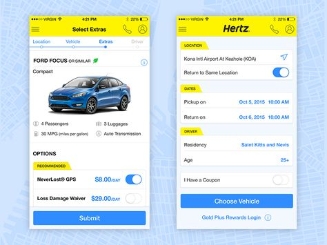 Hertz Car Rental Car Rental App Car Rental Hertz Car Rental