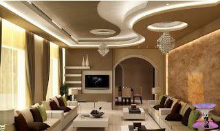 افضل ديكورات جبس اسقف راقيه 2020 Modern Gypsum Board For Walls And Ceilings Ceiling Design Living Room Bedroom False Ceiling Design Ceiling Design