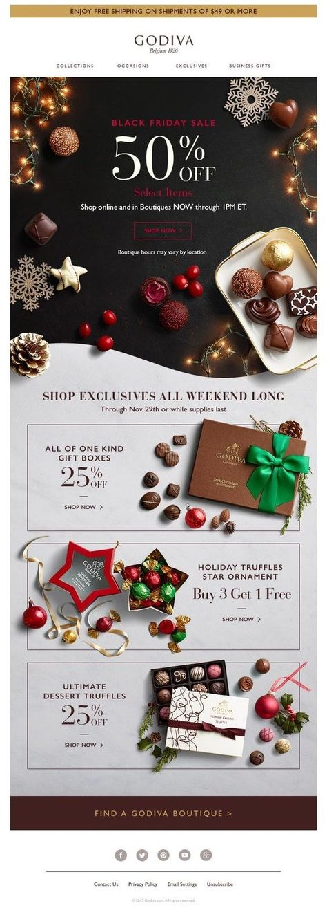 27 Awesome eCommerce Email Template Examples to Inspire Your Email Designs - MailBakery