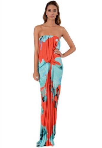 Young fabulous broke gautier maxi dress