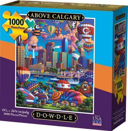 Dowdle Jigsaw Puzzle Above Calgary 1000 Piece In 2019 Jigsaw