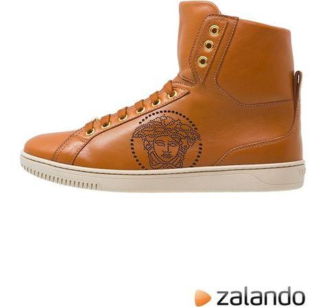 Versace PALAZZO Sneakers alte tan zalando marroni Glamour ...