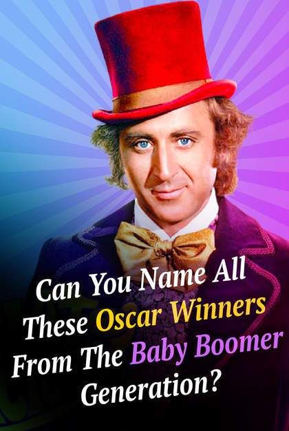 Quiz: Can You Name All These Oscar Winners From The Baby