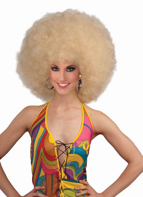 Forum Novelties Womens Deluxe Mega Afro Costume Wig