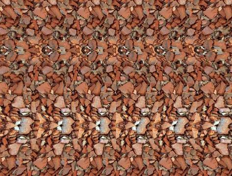 """""""Magic Eye"""" Stereogram with hidden image - this one is a VERY good one!"""