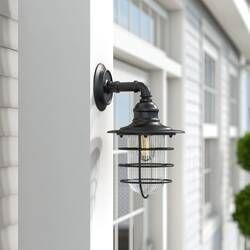 Charlton Home Cajigas Oil Burnished Bronze 1 Bulb Outdoor Wall Lantern Wayfair Wall Lantern Outdoor Walls Outdoor Wall Lantern
