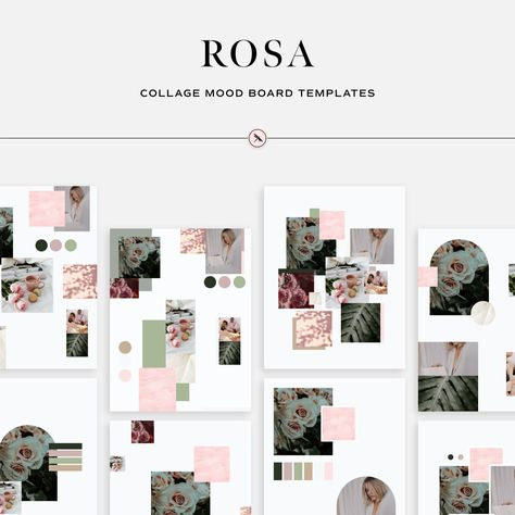 Rosa - Collage Mood Board Templates