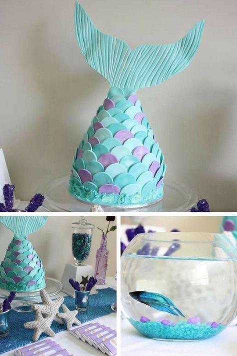 Mermaid Party Ideas Mermaid Birthday Party Decorations Mermaid