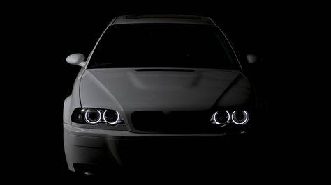 BMW E46 Angel Eyes 2560 x 1440